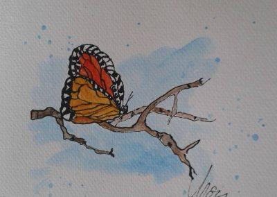 Pillangó festmény